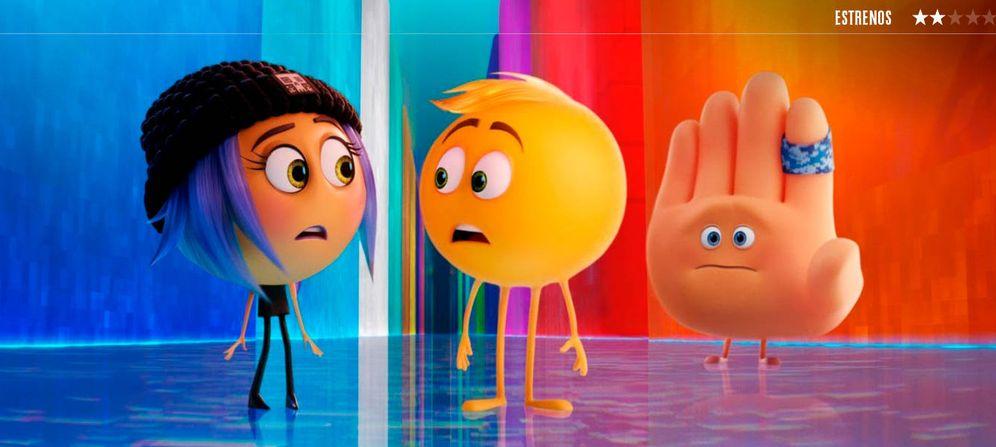 Foto: Un fotograma de 'Emoji: la película'. (Sony)