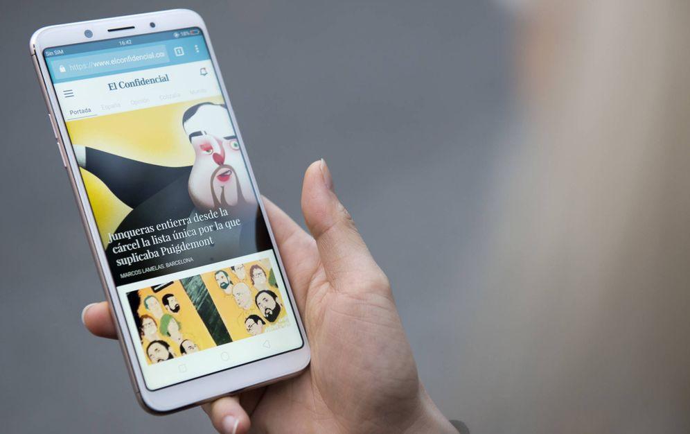 Foto: Probamos el Oppo F5: la mejor pantalla infinita en tu bolsillo por menos de 350€