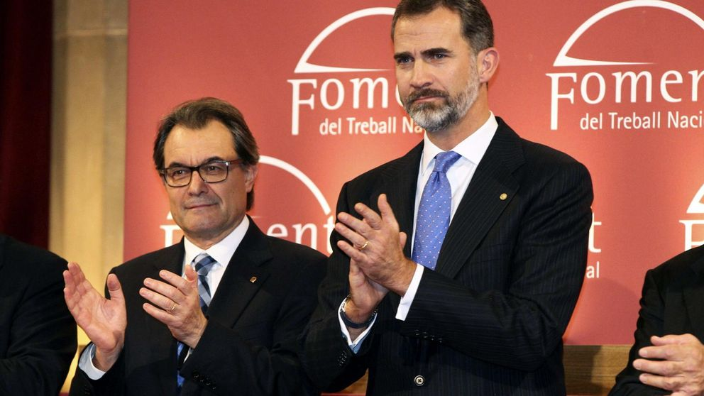 Felipe VI recibe esta semana a Artur Mas, Ximo Puig,  Vara y  Page