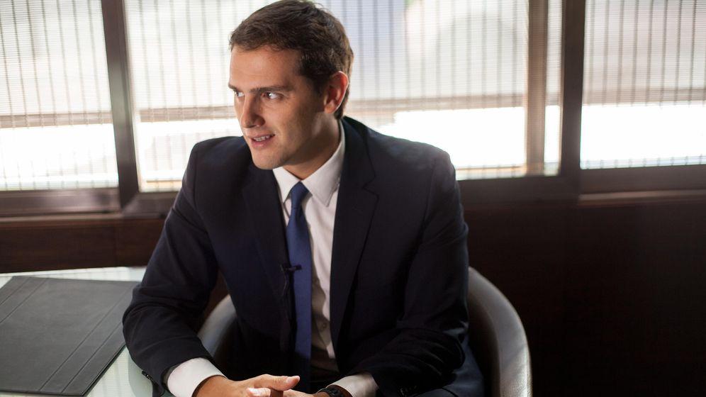 Foto: El presidente de Ciudadanos, Albert Rivera. (Enrique Villarino)