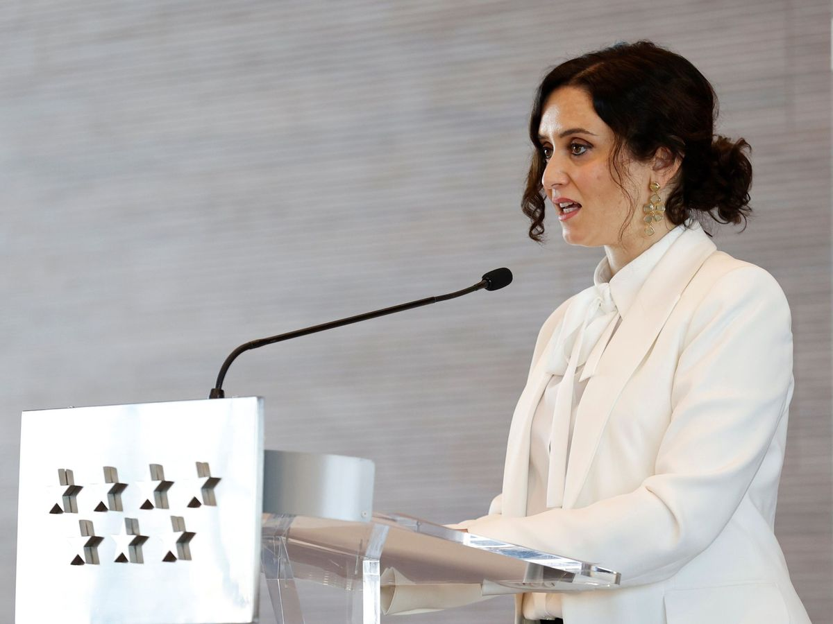 Foto: Isabel Díaz Ayuso. (EFE)