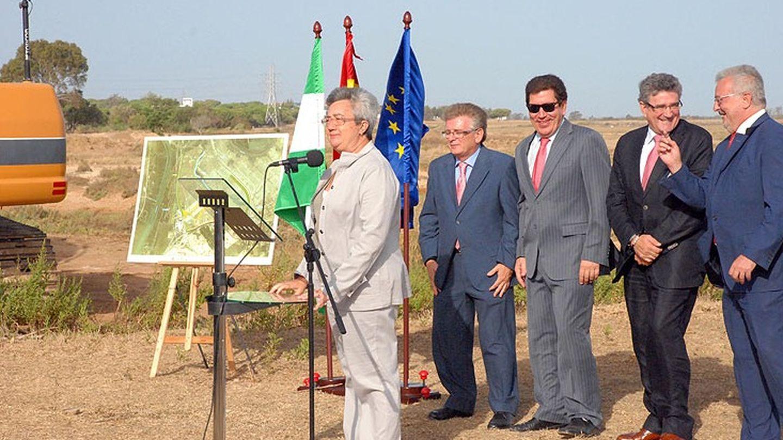 Inauguración del proyecto de 'las aletas'