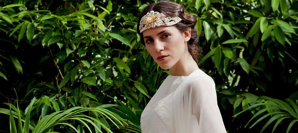 Foto: Así son los vestidos de novia de Lourdes y Sibi Montes