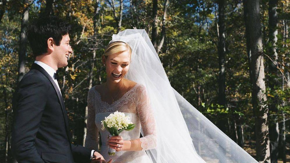Foto: Foto de la boda de Karlie Kloss y Joshua Kushner. (Redes)