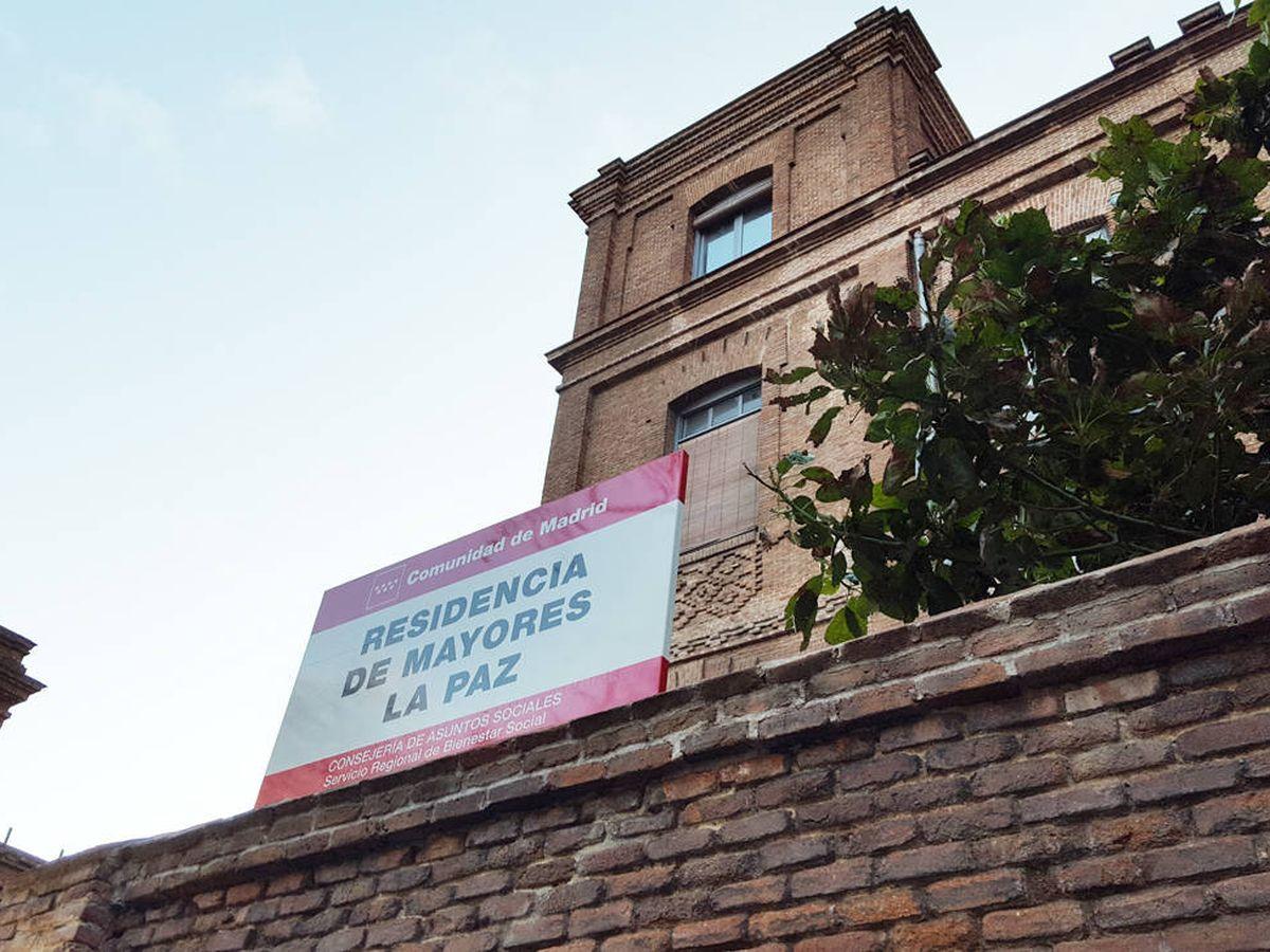Foto: La residencia de La Paz, en Madrid (A.P.)