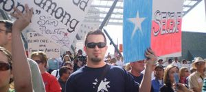 """Foto: """"Texas sola estaría mejor: Obama y EE.UU. nos roban"""""""