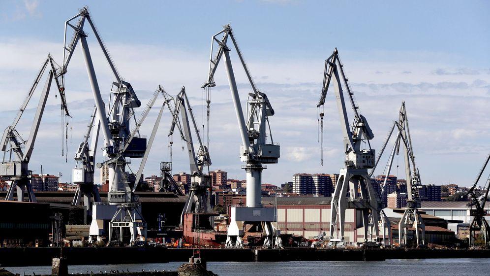 Foto: Astillero de La Naval en Sestao (Vizcaya). (EFE)