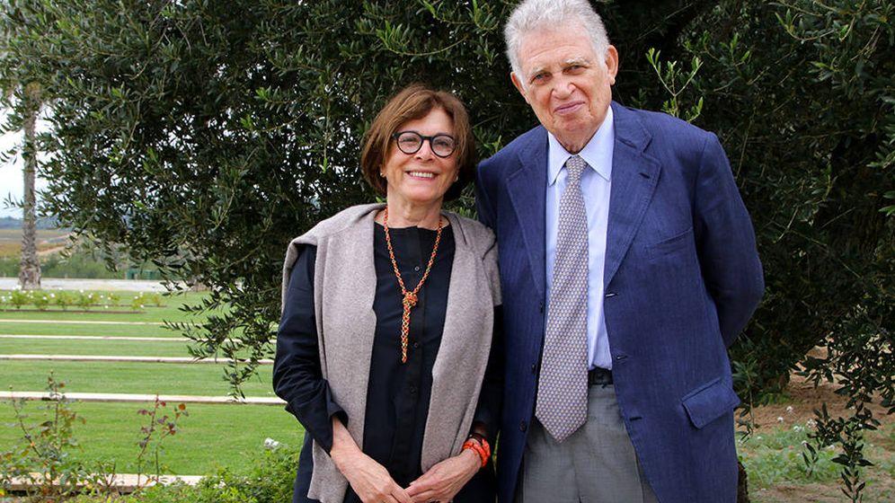 Foto: Carlota y Mauricio Botton, en su finca La Gramanosa. (Cortesía)