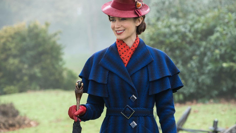 Emily Blunt en el papel de Mary Poppins. (Disney)