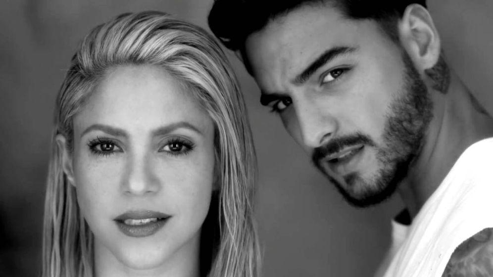Foto: Shakira y Maluma en una imagen del vídeo de 'Trap'.