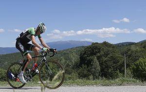 Gesink resucita su corazón de ciclista en el Santuario de Aralar