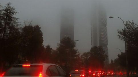 La niebla complica el tráfico en el primer día del escenario 2 de Madrid Central