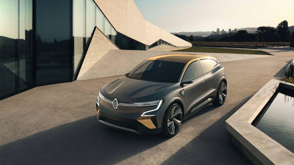 Foto: El Megane eVision es un concept del nuevo modelo eléctrico que se desvelará en 2021.