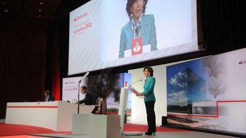 Santander cierra 2020 con pérdidas de 8.771 M y prepara la vuelta al dividendo en efectivo