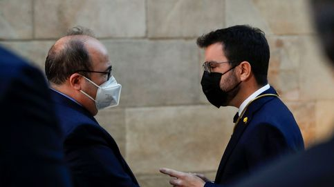 El soberanismo reniega del 'abrazo de Vergara' de Cuixart a Iceta