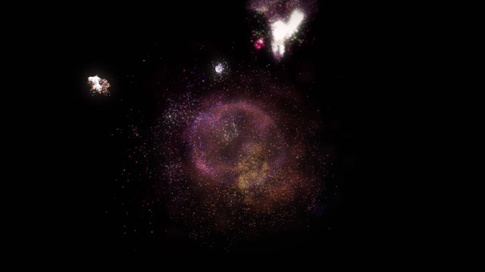 Hallan Una Rara Galaxia Que Pone En Duda Cómo Se Formó El Universo