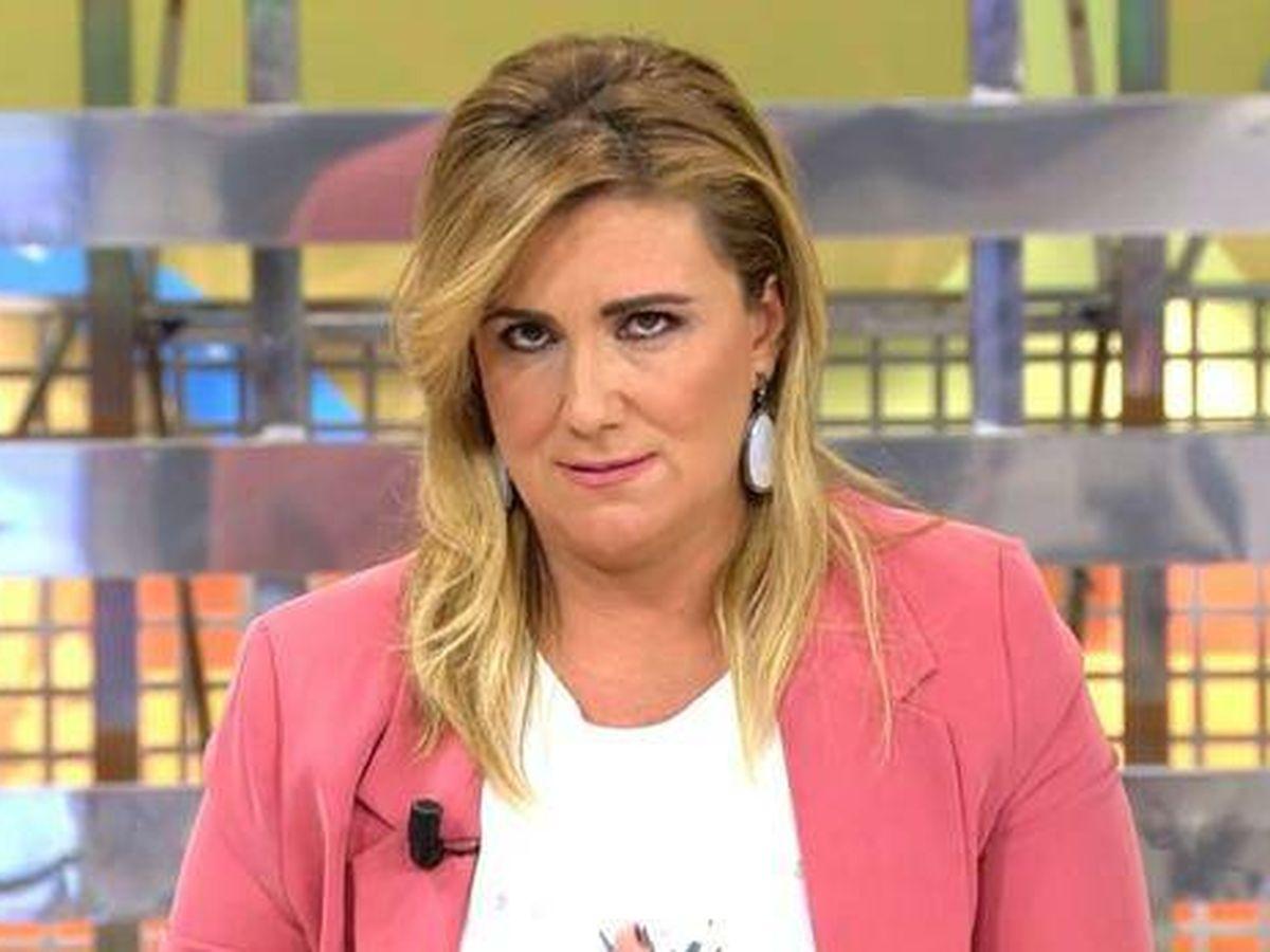 Foto: Carlota Corredera, en 'Sálvame'. (Telecinco)