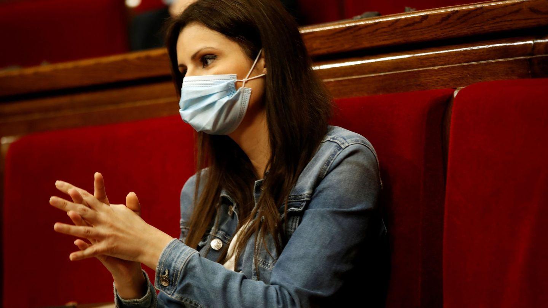 La presidenta del grupo de Ciudadanos, Lorena Roldán. (EFE)