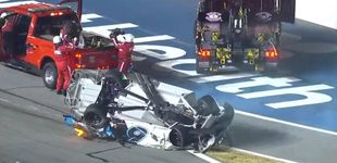 Post de Escalofriante accidente de un piloto de NASCAR en las 500 Millas de Daytona