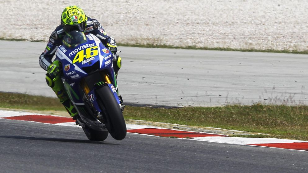 Rossi, el más veloz entre los rayos en los primera sesión de Sepang