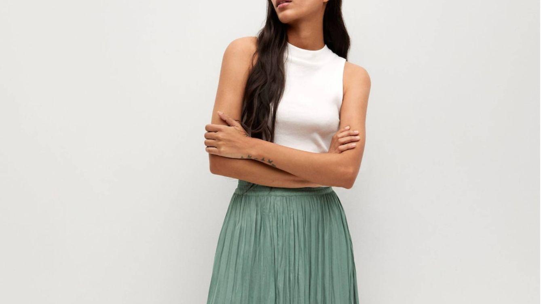 Faldas plisadas para disfrutar de una primavera a la moda