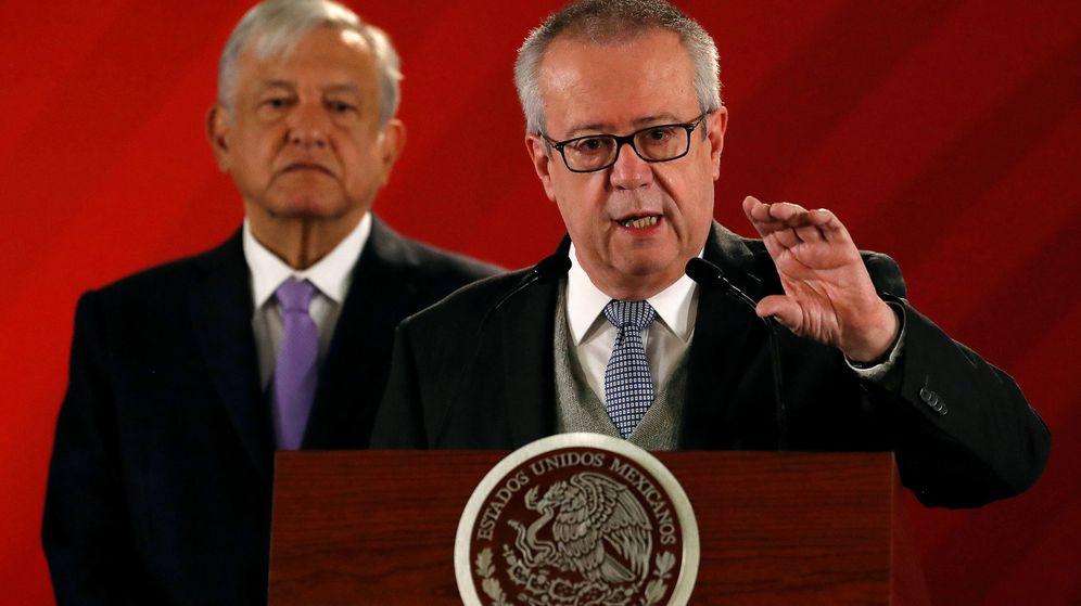 Foto: Carlos Urzúa, ministro de Hacienda de México. (Reuters)