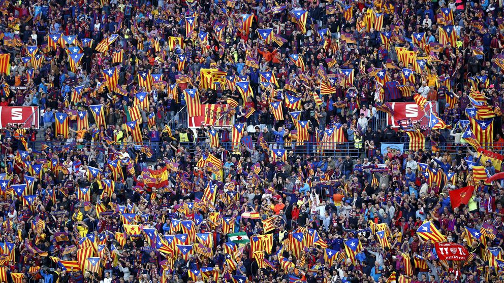 Denuncian a Dancausa por prohibir las esteladas en la final de Copa del Rey