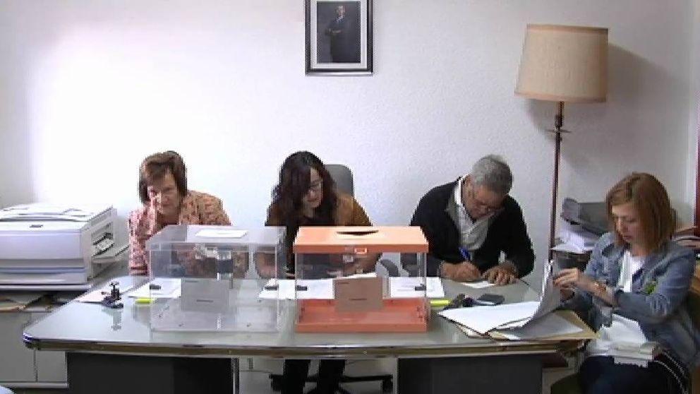 Villarroya, el pueblo más rápido de España en cerrar su (única) mesa electoral