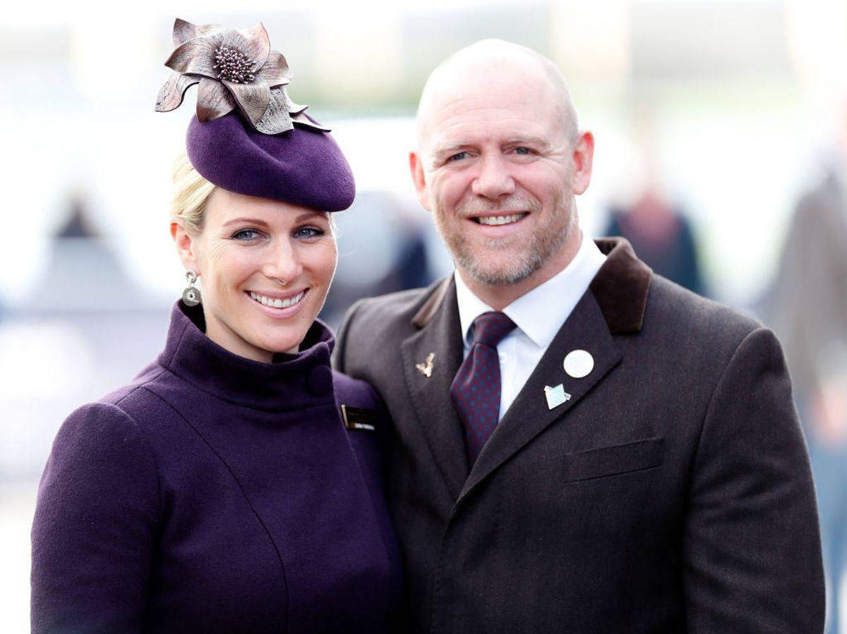 Foto: Zara y su marido, Mike Tindall. (Getty)