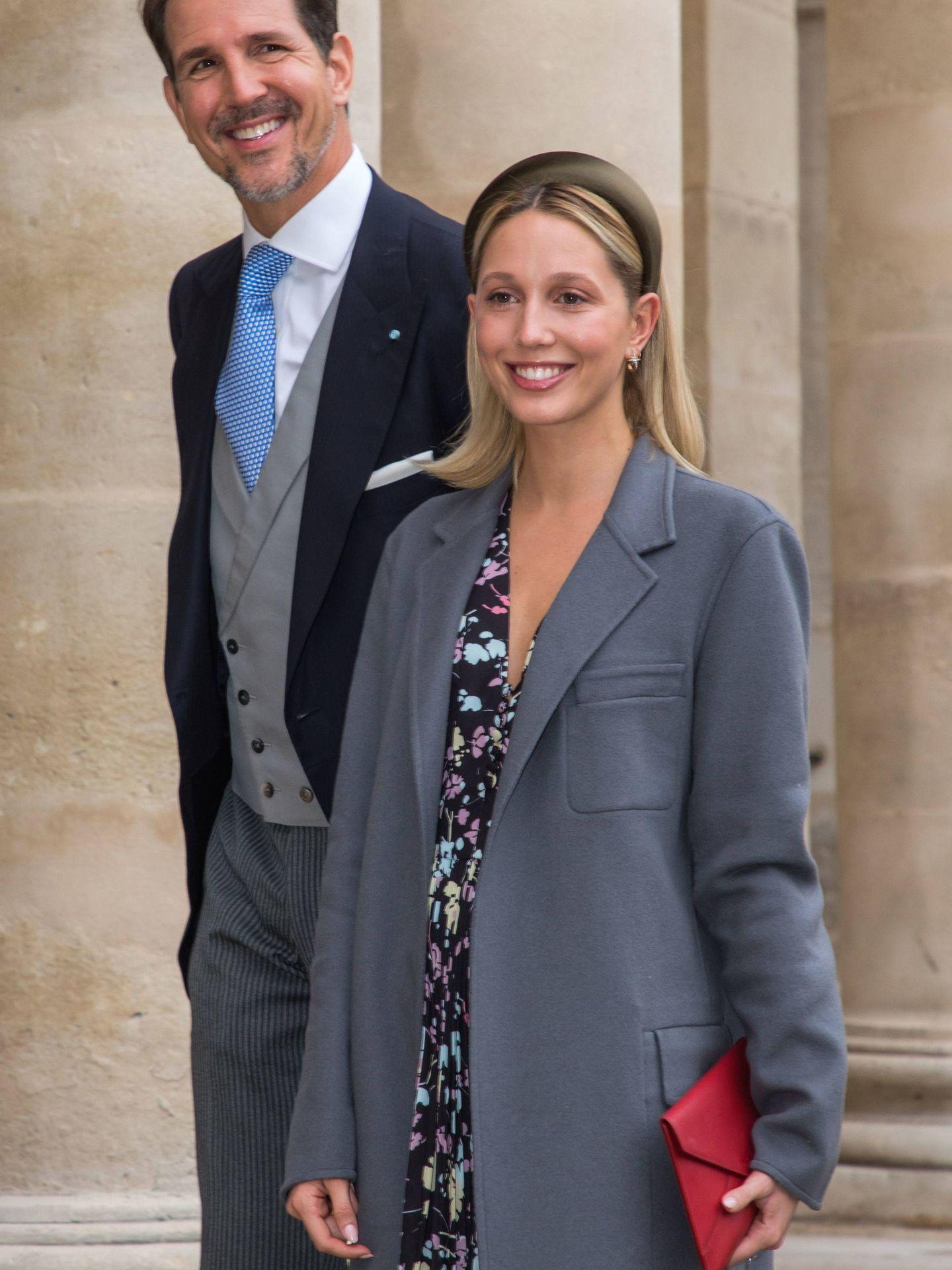 El príncipe Pablo de Grecia, con la princesa Olympia. (EFE)