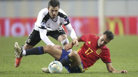 La España sub-21 se deja abierta la clasificación par la Eurocopa