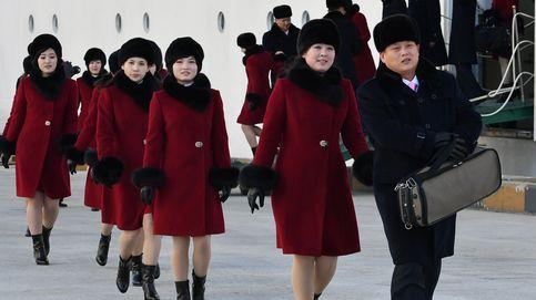 El escuadrón de animadoras de Kim Jong-Un llega a Corea del Sur para los juegos de invierno