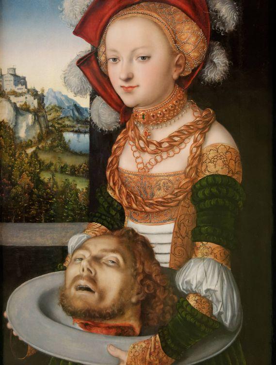 Foto: 'Salomé con la cabeza de san Juan Bautista' - Lucas Cranach, el viejo (1530)