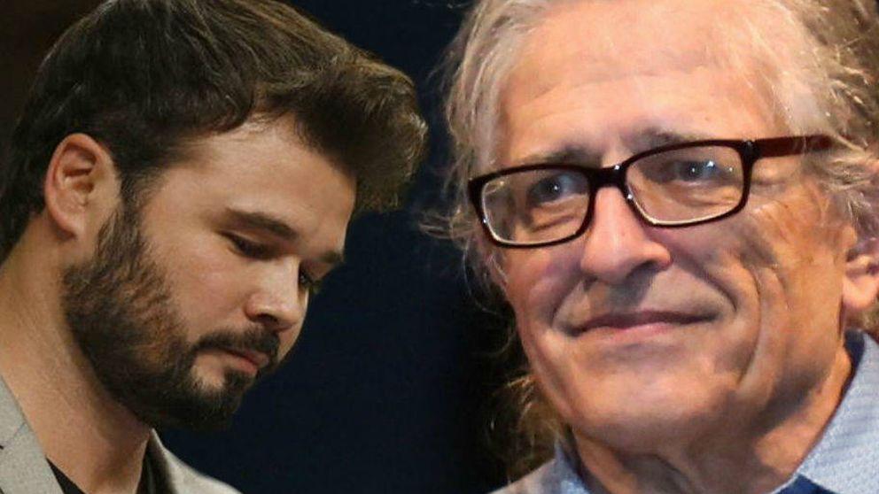 Cotarelo carga contra Rufián tras la polémica de sus facturas en TV3