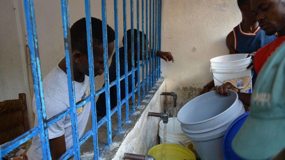 España sustenta la gestora del agua en Haití, el país sin alcantarillado