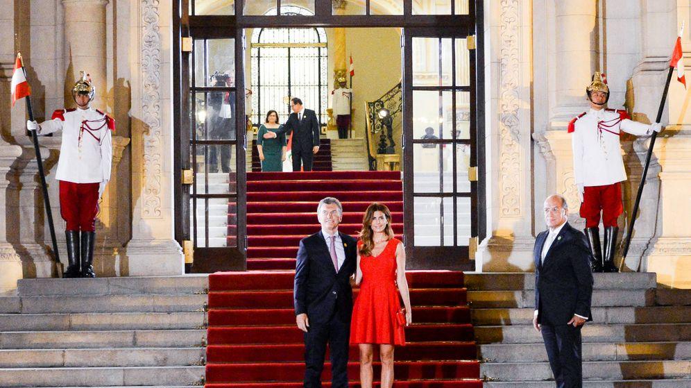 Foto:  Mauricio Macri causó sensación con su mujer. (Gtres)