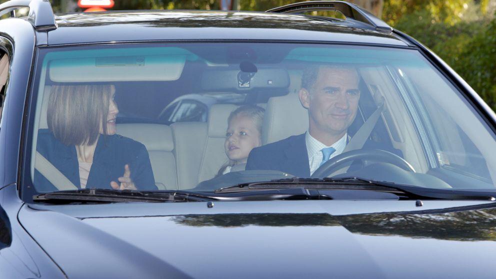 La discreta vuelta al cole de la princesa de Asturias y la infanta Sofía