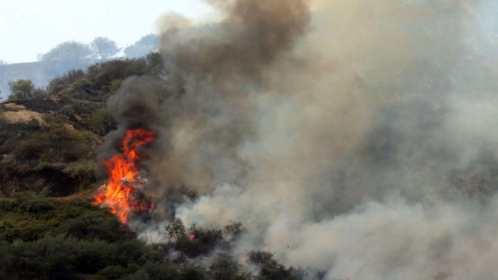 El incendio de Gran Canaria obliga a evacuar a más de 9.000 personas