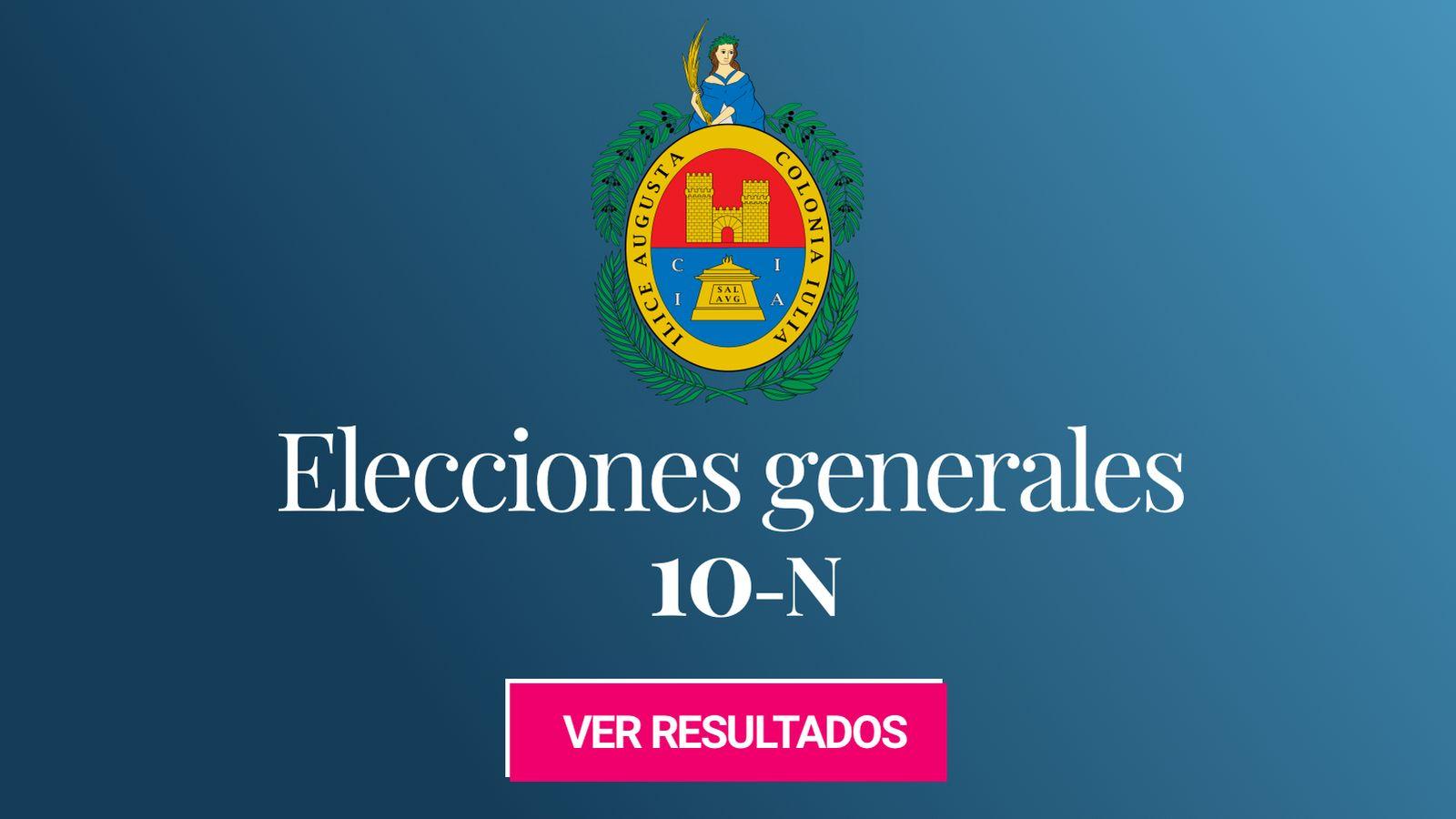 Foto: Elecciones generales 2019 en Elche . (C.C./EC)