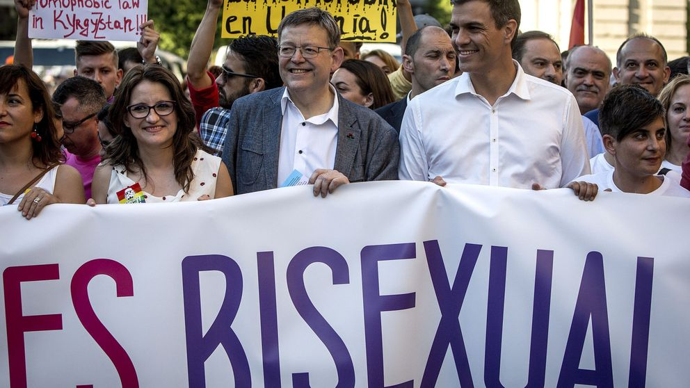 "Sánchez se da un baño de ""imperio gay"" en la batalla por ser segundo"