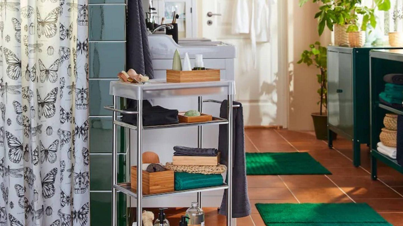 Soluciones prácticas de Ikea para un baño ordenado. (Cortesía)