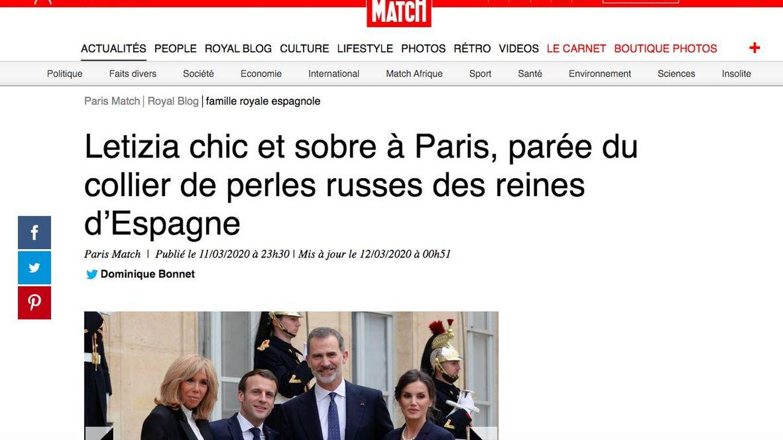 Captura de 'Paris Match'.