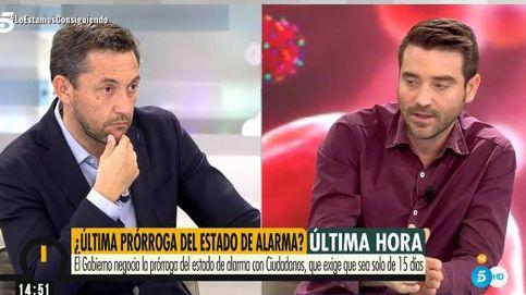 Esa declaración es falsa, está trucada:  enganchón entre Javier Ruiz y Negre