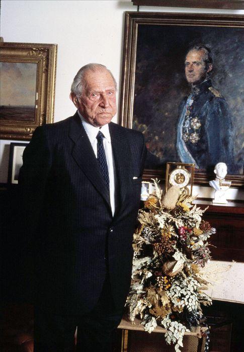 Foto: Don Juan de Borbón y Battenberg en la década de los 90. (I.C.)