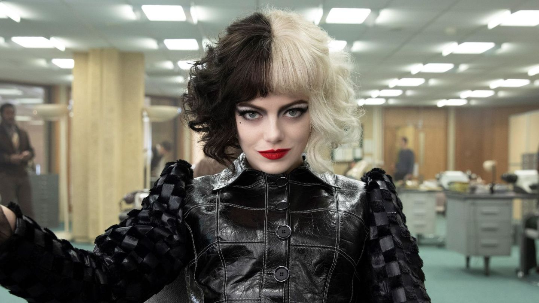 Emma Stone, como Cruella de Vil. (EFE/The Walt Disney Company)