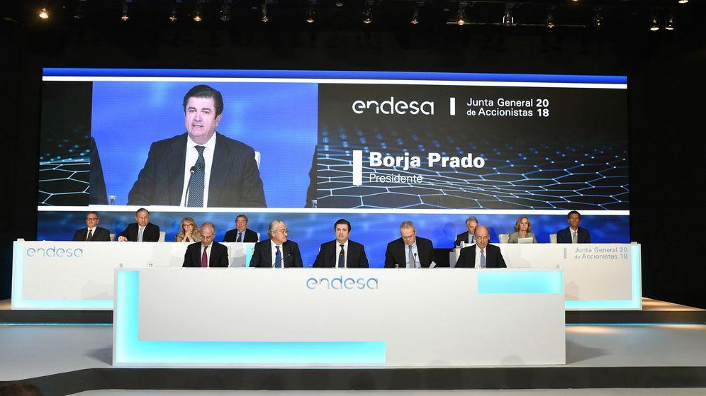 Foto: El presidente de la compañía de electricidad Endesa, Borja Prado. (EFE)