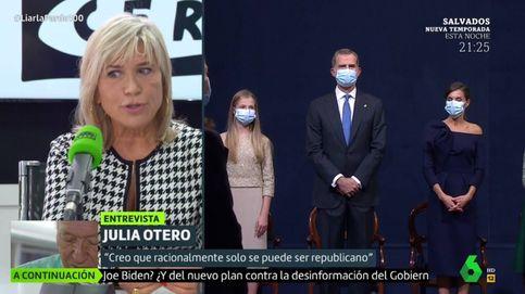 Julia Otero, en el programa de Cristina Pardo: A mí no me estorba la monarquía