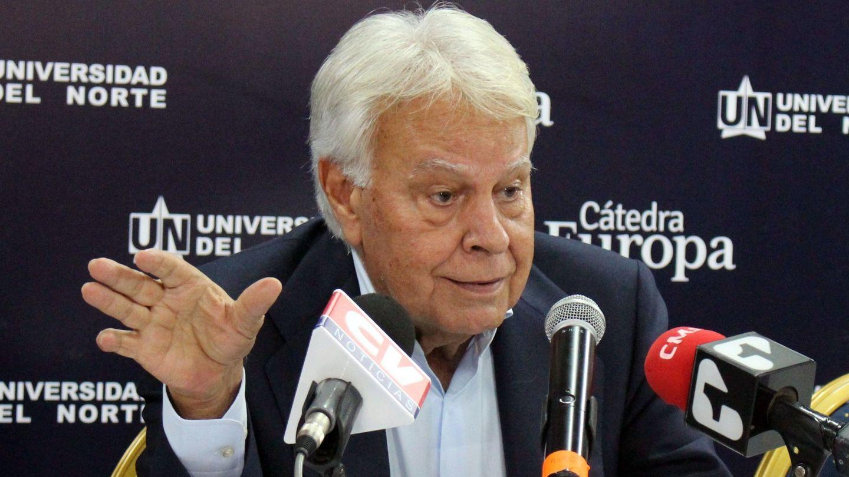 El expresidente Felipe González, en Barranquilla (Colombia), el pasado 6 de marzo. (EFE)