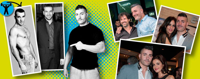 Foto: El cambio físico de Luis Merlo tras pasar por manos de Iván Perujo, el 'personal trainer' de los famosos (Vanitatis)
