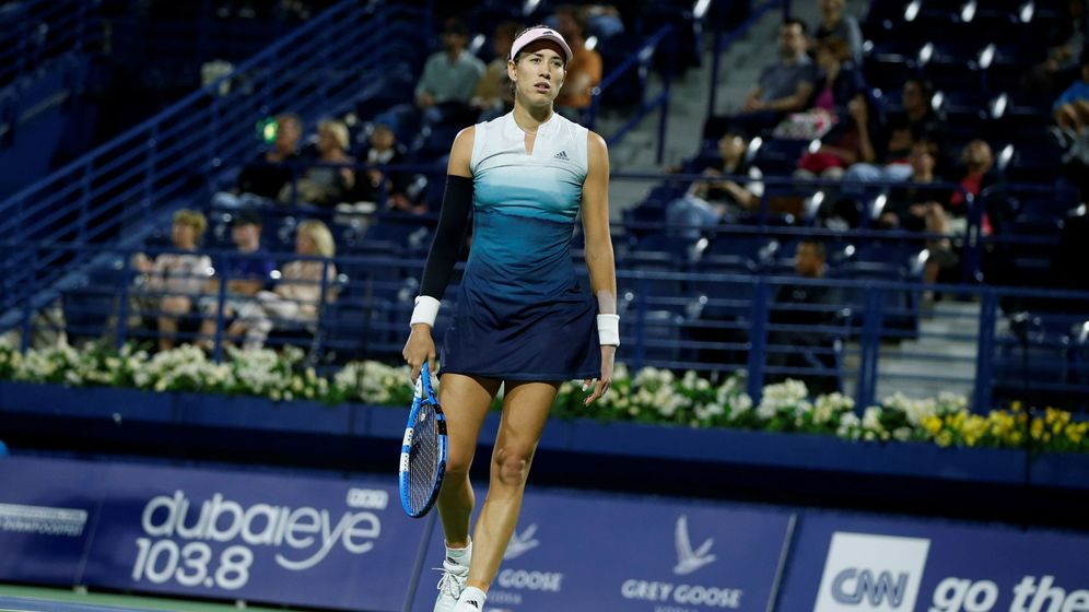 Foto: Garbiñe Muguruza ocupa el 19º puesto del ránking de la WTA. (EFE)
